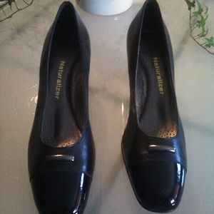 Naturalizer leather heels, size 6.5N